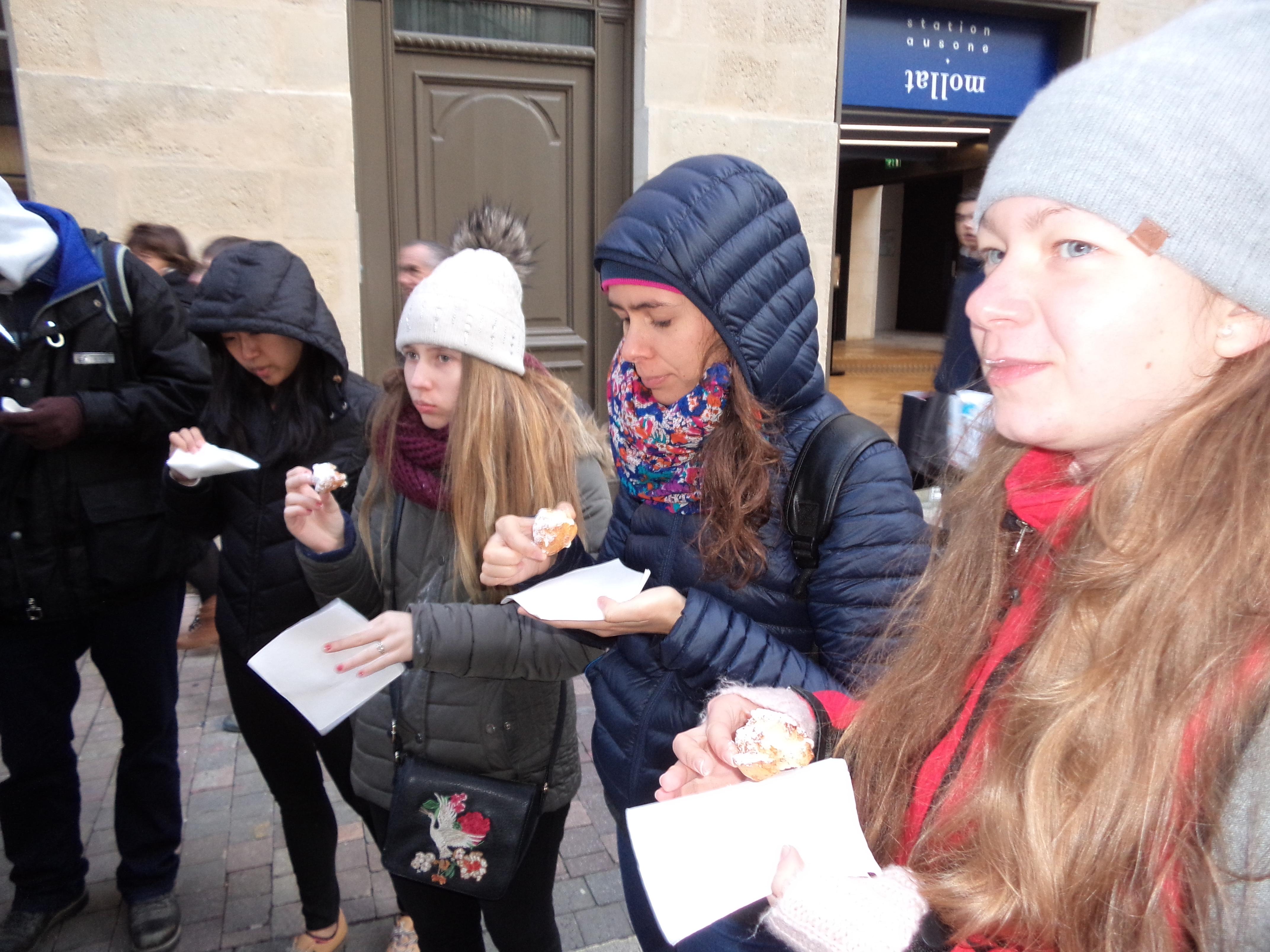 Tasting of pastries - HUBordeaux