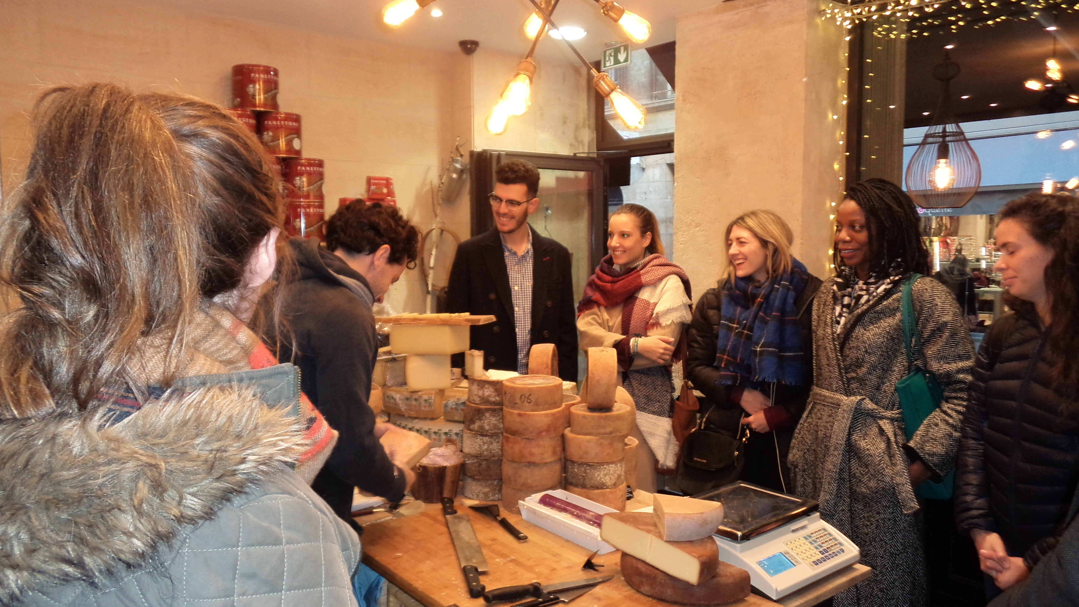 Visit and tasting cheese HUBordeaux