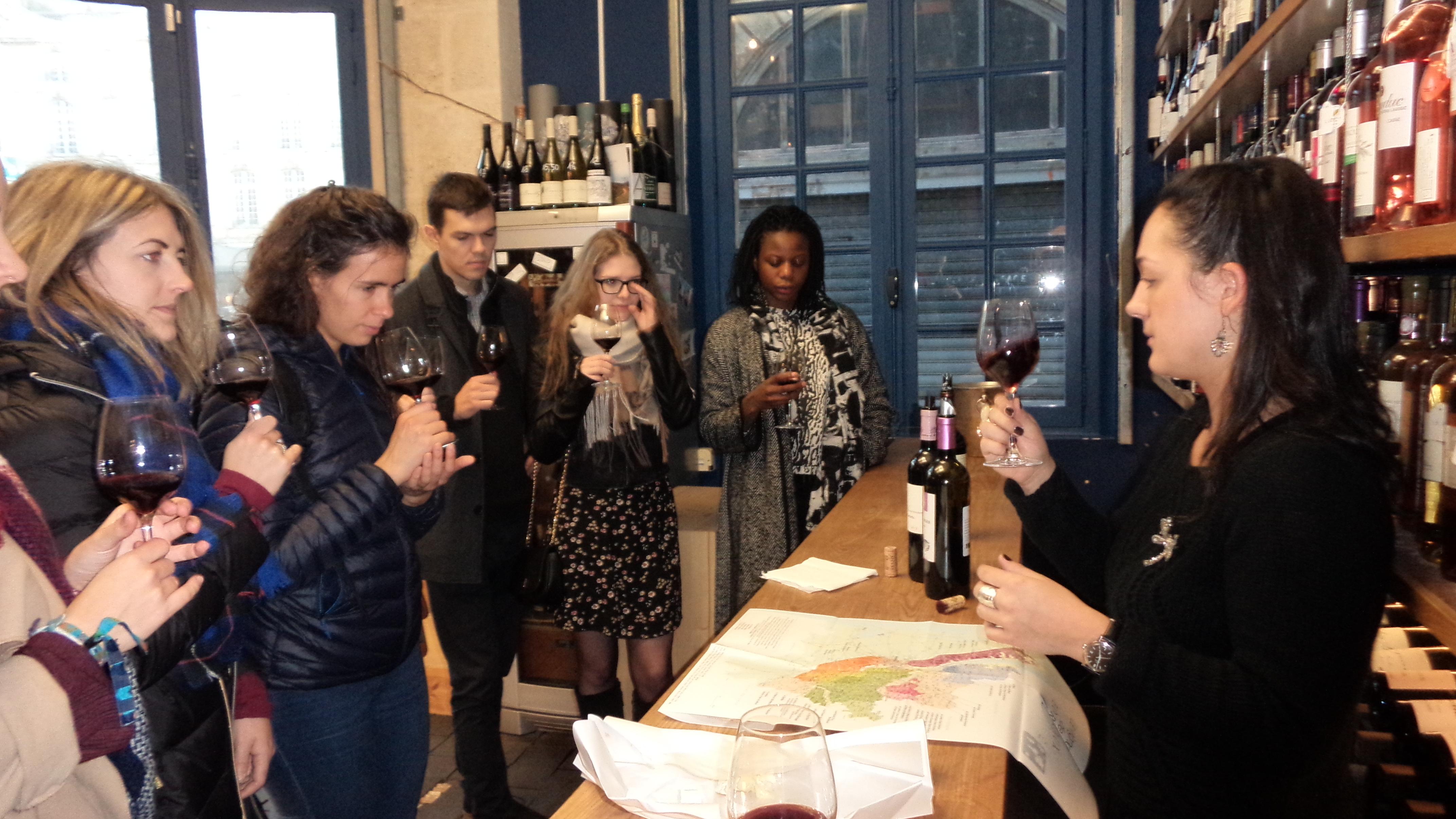 Wine tasting with HUBordeaux